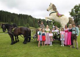 Květinový kůň